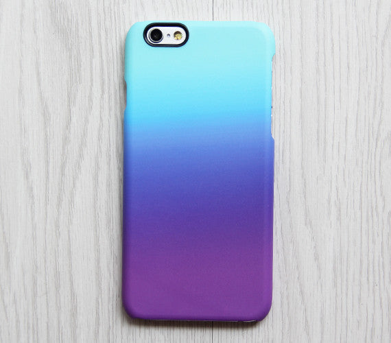 Violet Turquoise Pastel Abstract iPhone 6s Plus SE Case iPhone 5s Case Galaxy S7 Edge Plus Case 085
