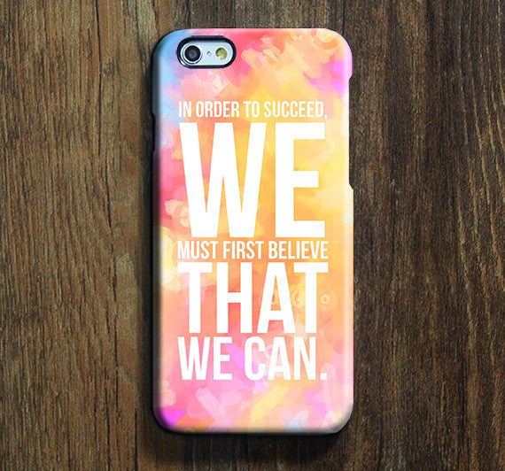 Inspirational Quote Believe iPhone 6s Case iPhone 6 plus Ethnic iPhone 5S iPhone 5C iPhone 4S Case Abstract Galaxy S6 edge S6 S5 S4 Case 091