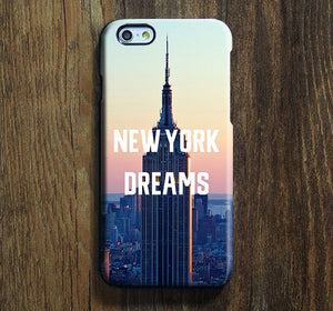 NYC Empire Sunset Dreams iPhone XS Max Galaxy S8 Case  Case Samsung Galaxy Note 5 Case s6-093 - Apple iPhone Xs/iPhone Xr case by Retina Designs