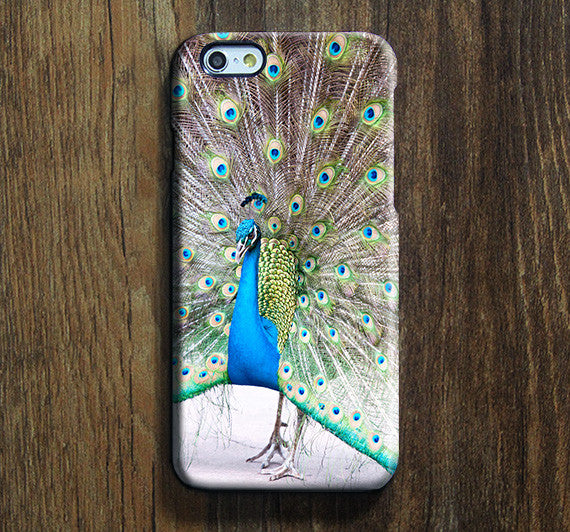 Vintage Peacock iPhone 6s Case iPhone 6s Plus Case iPhone 6 Cover iPhone 5S 5 iPhone 5C Samsung Galaxy S6 Edge Galaxy s6 s5 s4 Galaxy Note 5 Note 4 Case 130