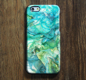 Abstract Blue iPhone XR SE Case iPhone XS Max plus Case iPhone 5 Case Galaxy Case 3D 141 - Apple iPhone Xs/iPhone Xr case by Retina Designs