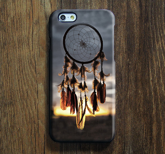 Sunset Dreamcatcher Mascot iPhone XS Max Galaxy S8 Case  Case Samsung Galaxy Note 5 Case s6-150 - Apple iPhone Xs/iPhone Xr case by Retina Designs