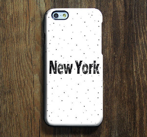 NEW York Dots iPhone XR Case Galaxy S8 Case iPhone XS Max Cover iPhone 8 SE  Galaxy S8 Galaxy S7 Galaxy Note 5 Phone Case 157 - Apple iPhone Xs/iPhone Xr case by Retina Designs