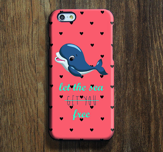 Dolphin Love the Sea iPhone XR Case Galaxy S8 Case iPhone XS Max Cover iPhone 8 SE  Galaxy S8 Galaxy S7 Galaxy Note 5 Phone Case 163 - Apple iPhone Xs/iPhone Xr case by Retina Designs