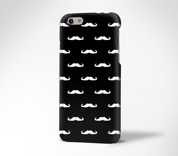Geek Mustache iPhone 6s Case iPhone 6s Plus Case iPhone 6 Cover iPhone 5S 5 iPhone 5C Galaxy S6 Edge Case 166