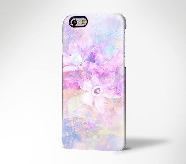 Abstract Pastel Floral iPhone SE 6s Plus Case iPhone 8c Case Galaxy S8 Plus Case 179 - Apple iPhone Xs/iPhone Xr case by Retina Designs