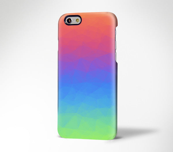 Pastel Rainbow Color Gradient for iPhone 7 plus iPhone 7 Galaxy s7 181
