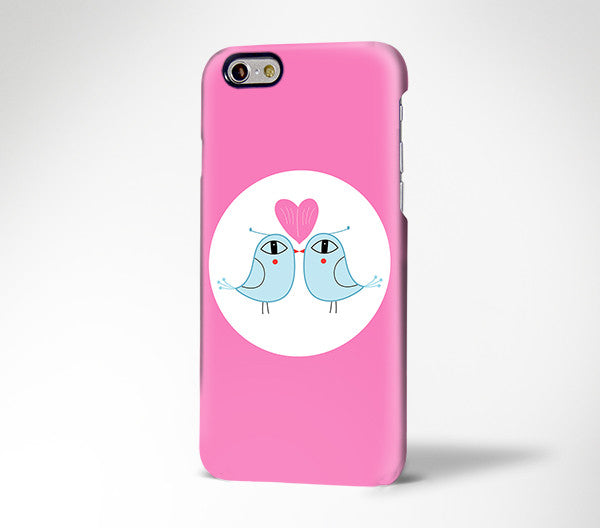 Love Birds iPhone XR / 6s Plus Case  / Edge Plus Case 182 - Apple iPhone Xs/iPhone Xr case by Retina Designs