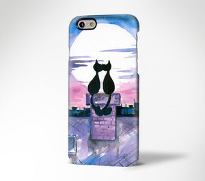 Love Cats iPhone XR Case iPhone XS Max plus Case iPhone 5 Case s7 Galaxy Case 3D 193 - Apple iPhone Xs/iPhone Xr case by Retina Designs