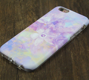 Pastel Floral Pink Tough Protective iPhone XS Max Case Galaxy S8 plus S7 Edge SE Snap Case 3D 204 - Apple iPhone Xs/iPhone Xr case by Retina Designs