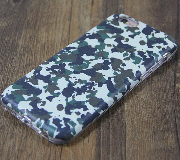 Central Europe Seamless Camo Protective iPhone XS Max Case Galaxy S8 plus S7 Edge SE Snap Case 3D 217 - Retina Designs
