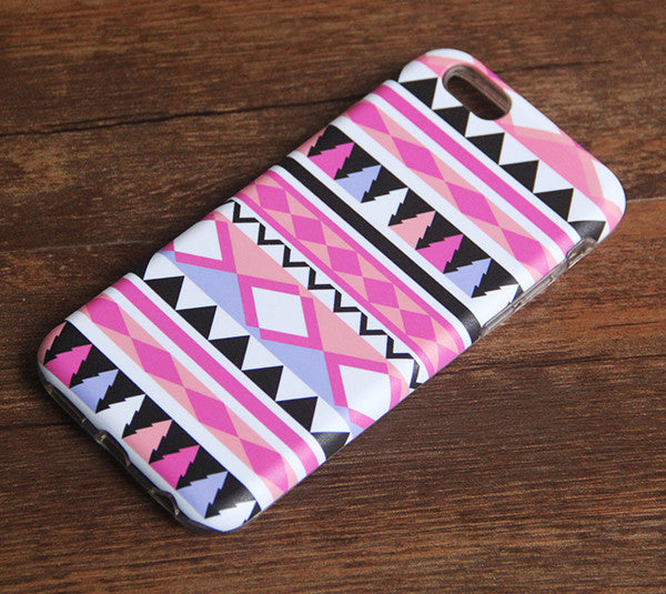 Ethnic Aztec Vintage Tough Protective iPhone 6s Case iPhone 6 plus S7 Edge SE Snap Case 233