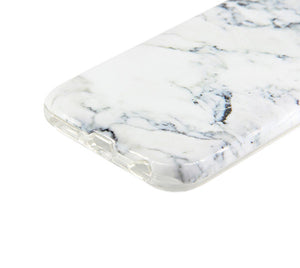 White Marble Tough Protective iPhone XS Max Case Galaxy S8 plus S7 Edge SE S6 Case 3D 228 - Apple iPhone Xs/iPhone Xr case by Retina Designs