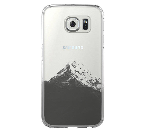Mountain Samsung Galaxy S6 Edge Clear Case  Galaxy S6 Transparent Case Samsung S5 Hard Cover C0001