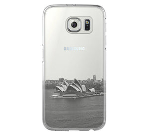 Sydney Opera Skyline Samsung Galaxy S6 Edge Clear Case Galaxy S6 Transparent Case Samsung S5 Hard Cover C020 - Apple iPhone Xs/iPhone Xr case by Retina Designs