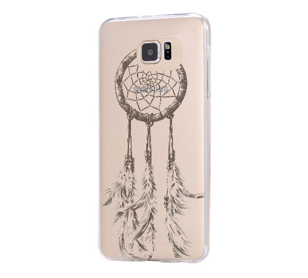 Dreamcatcher iPhone 6 Case Clear Hard iPhone 6s Plus Case, Galaxy S6 Edge Case C034 - Apple iPhone Xs/iPhone Xr case by Retina Designs