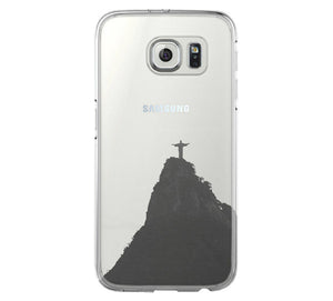 Rio de janeiro iPhone 6 Case iPhone 6s Plus Case Galaxy S6 Edge Clear Hard Case C081