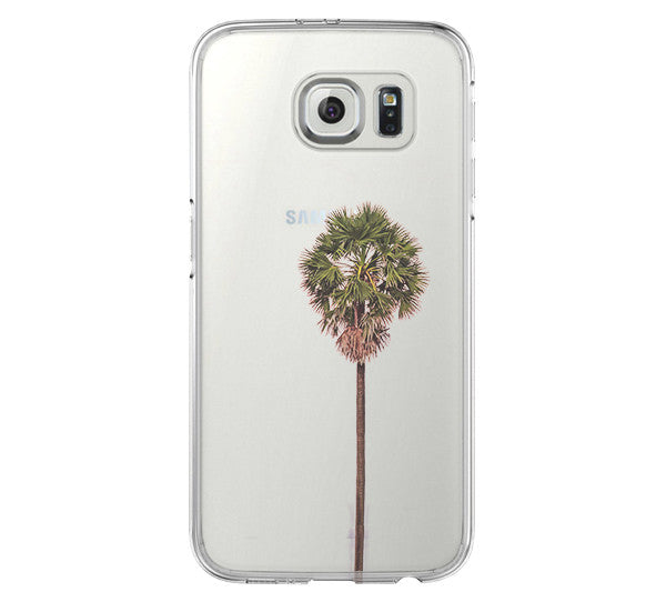 Palm Tree Summer Galaxy s6 Case Galaxy S6 Edge Case Galaxy S5 Clear Hard case C082 - Apple iPhone Xs/iPhone Xr case by Retina Designs