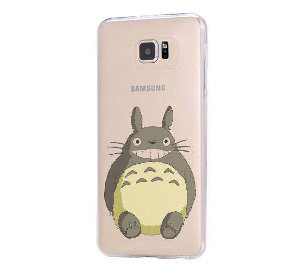 My Neighbor totoro iPhone 6 Case iPhone 6s Plus Case Galaxy S6 Edge Clear Hard Case C135