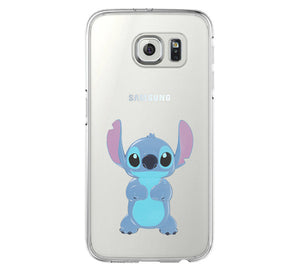 LILO & STITCH iPhone 6 Case iPhone 6s Plus Case Galaxy S6 Edge Clear Hard Case C137 - Apple iPhone Xs/iPhone Xr case by Retina Designs