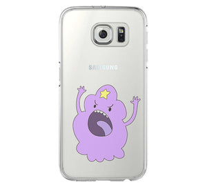 Adventure Time Lumpy Space Princess iPhone 6 Case iPhone 6s Plus Case Galaxy S6 Edge Clear Hard Case C138 - Apple iPhone Xs/iPhone Xr case by Retina Designs