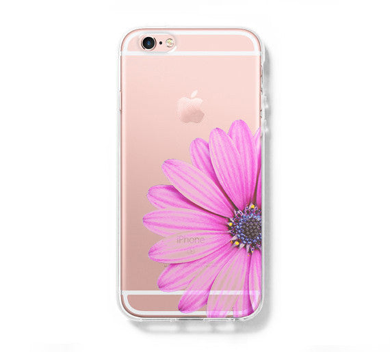Sunflower iPhone 6 Case iPhone 6s Plus Case Galaxy S6 Edge Clear Hard Case C146