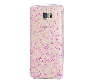 Pinky Dots iPhone 6 Case iPhone 6s Plus Case Galaxy S6 Edge Clear Hard Case C147 - Retina Designs