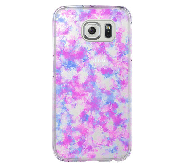 Pastel Abstract Galaxy s6 Case Galaxy S6 Edge Case Galaxy S5 Clear Hard case C156