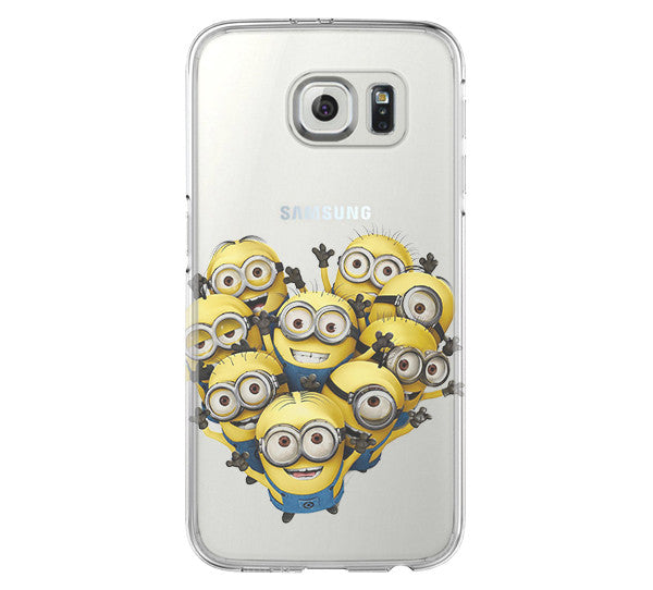 Despicable Me iPhone 6 Case iPhone 6s Plus Case Galaxy S6 Edge Clear Hard Case C166