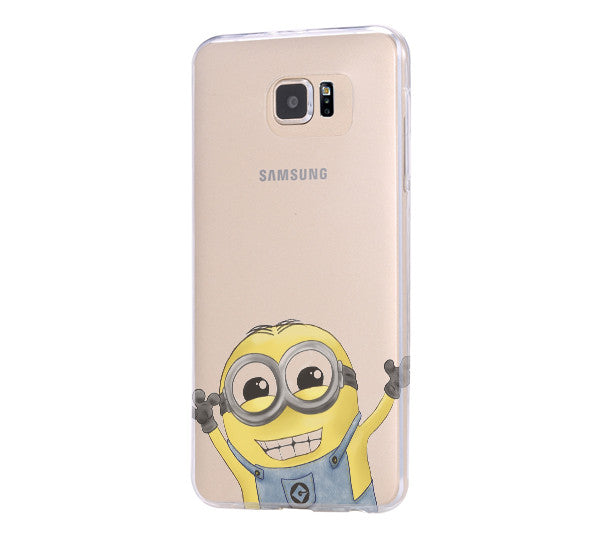 Despicable Me Galaxy s6 Case Galaxy S6 Edge Case Galaxy S5 Clear Hard case C167