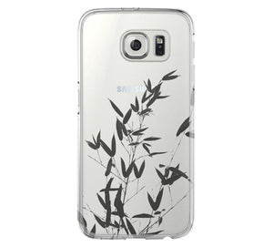 Bamboo Tree Clear Hard Samsung Galaxy s6 case, Galaxy S6 Edge Case, Galaxy S5 case C030 - Apple iPhone Xs/iPhone Xr case by Retina Designs