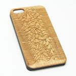 Joy Division Unknown Pleasures Wood Engraved iPhone 6s Case iPhone 6 Case iPhone 6s 6 Plus Cover Natural Wooden iPhone 5s 5 Case Samsung Galaxy s7 edge S6 Edge S5 Case D116 - Apple iPhone Xs/iPhone Xr case by Retina Designs