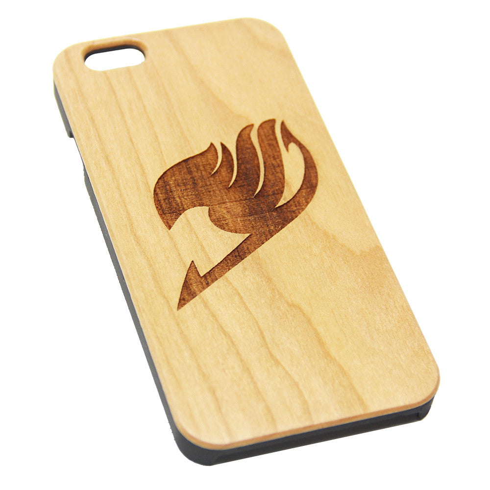 Fairy Tale Symbol Anime Design Wood Engraved iPhone 6s Case iPhone 6 Case iPhone 6s 6 Plus Cover Natural Wooden iPhone 5s 5 Case Samsung Galaxy S7 Edge S6 S5 Case D127 - Apple iPhone Xs/iPhone Xr case by Retina Designs