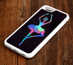 Dancing Ballet Girl  iPhone 6s 6 plus case iPhone 6s rubber case iPhone 5s 5 5c silicone case iPhone 6 Case - Apple iPhone Xs/iPhone Xr case by Retina Designs