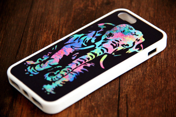 Abstract Elephant iPhone 6s 6 plus case iPhone 6s rubber case iPhone 5s 5 5c silicone case iPhone 6 Case - Apple iPhone Xs/iPhone Xr case by Retina Designs