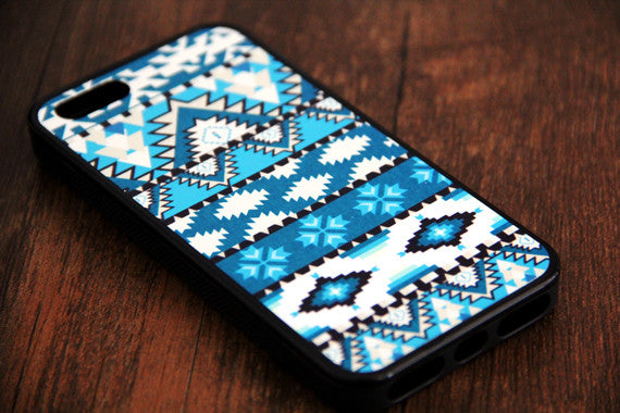 Green Aztec iPhone 6s 6 plus case iPhone 6s rubber case Aztec iPhone 5s 5 5c silicone case Retro iPhone 6 Case - Apple iPhone Xs/iPhone Xr case by Retina Designs