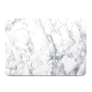 MacBook Case Frosted White Marble Hard Cover for Macbook Air Pro Retina 13 15 inch -N0018 - Retina Designs