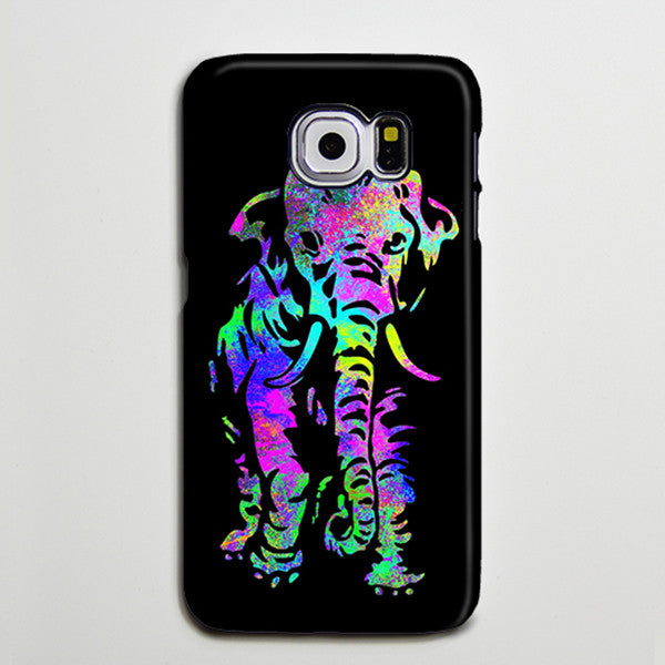 Elephant Turquoise Purple Galaxy s6 Edge Plus Case Galaxy s6 s5 Case Samsung Galaxy Note 5 4 3 Phone Case s6-011