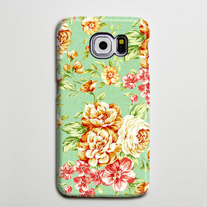 Floral Peonies Red Roses Galaxy S8 Plus Case Galaxy S7 Case Samsung Galaxy Note 5  Phone Case s6-019 - Apple iPhone Xs/iPhone Xr case by Retina Designs