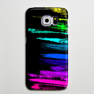 Graffiti Chalk Stroke Pink Yellow Blue Galaxy S8 Plus Case Galaxy S7 Case Samsung Galaxy Note 5  Phone Case s6-03 - Apple iPhone Xs/iPhone Xr case by Retina Designs