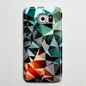 Green Triangle Geometric Optical Galaxy S8 Plus Case Galaxy S7 Case Samsung Galaxy Note 5  Phone Case s6-131 - Apple iPhone Xs/iPhone Xr case by Retina Designs