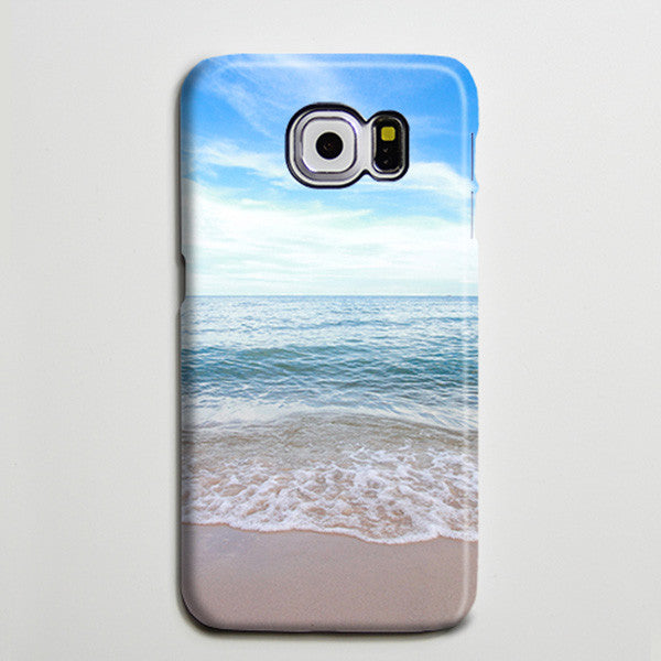 Florida Beach Shore Sea iPhone 6 Galaxy s6 Edge Case Galaxy s6 Case Samsung Galaxy Note 5 Case s6-136