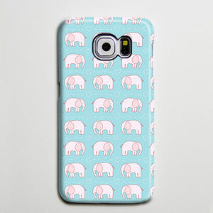 Adorable Elephant Mini iPhone XS Max Galaxy S8 Case  Case Samsung Galaxy Note 5 Case s6-144 - Apple iPhone Xs/iPhone Xr case by Retina Designs