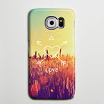 Love Quote Sunny Galaxy S8 Plus Case Galaxy S7 Case Samsung Galaxy Note 5  Phone Case s6-152 - Retina Designs
