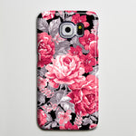 Floral Red Roses Flowers Galaxy S8 Plus Case Galaxy S7 Case Samsung Galaxy Note 5  Phone Case s6-018 - Apple iPhone Xs/iPhone Xr case by Retina Designs