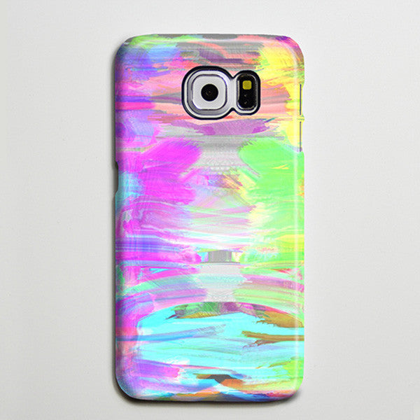 Abstract Paint iPhone 6s Case, iPhone 6 plus Case, iPhone 5 Case, Galaxy Case 3D s6-036