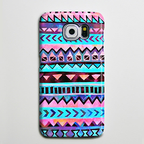 Tribal Aztec Ethnic iPhone XS Max Case Galaxy S8 Plus Case  Case Samsung Galaxy Note 5 Case s6-041 - Apple iPhone Xs/iPhone Xr case by Retina Designs