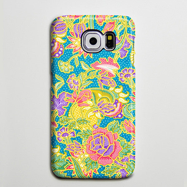 Persian Floral Flowers Damask iPhone XS Max Case Galaxy S8 Plus Case  Case Samsung Galaxy Note 5 Case s6-048