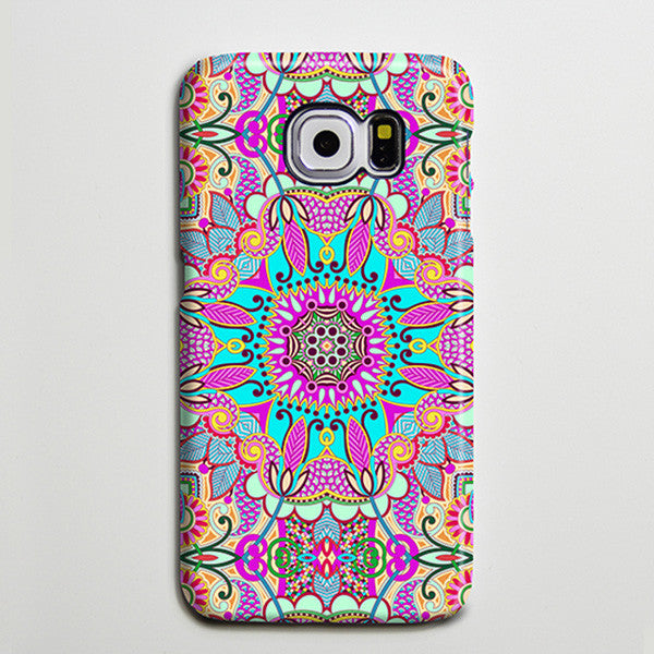 Artistic Persian Flowers iPhone XS Max Case Galaxy S8 Plus Case  Case Samsung Galaxy Note 5 Case s6-051 - Apple iPhone Xs/iPhone Xr case by Retina Designs