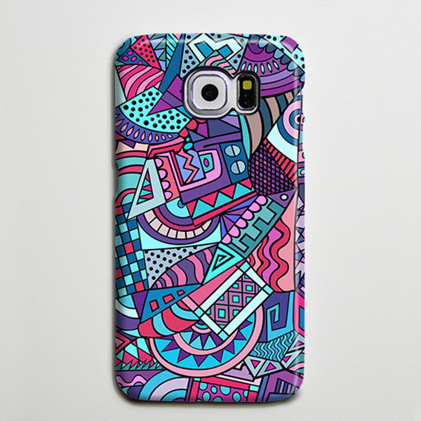 African Art Bohemian iPhone Case Galaxy s6 Edge Plus Case Galaxy s6 Case Samsung Galaxy Note 5 Case s6-053